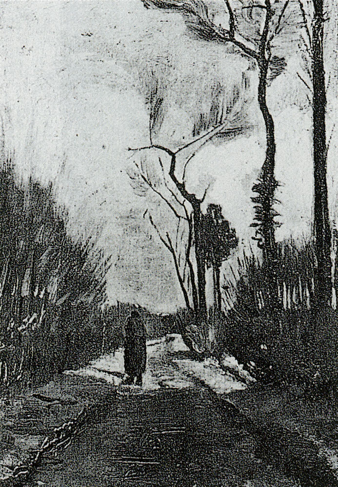 Vincent van Gogh - Country lane