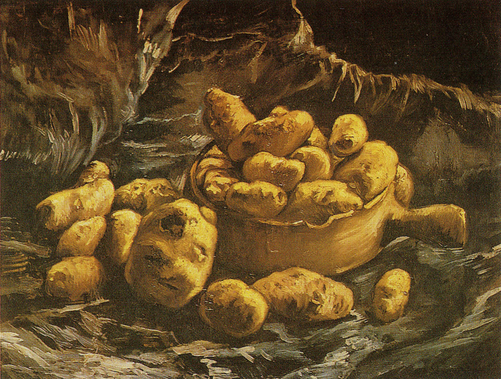 Vincent van Gogh - Still life with an earthen bowl with potatoes