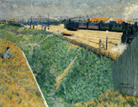 Charles Angrand The Western Railway at its Exit from Paris