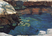 Childe Hassam The Cove