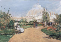 Childe Hassam Horticulture building, World's Columbian Exposition