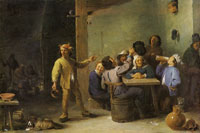 David Teniers the Younger Peasants celebrating twelfth night