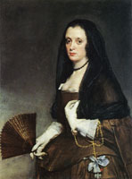 Diego Velazquez Lady with a Fan
