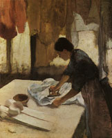 Edgar Degas Woman ironing