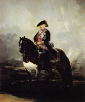 Francisco Goya Carlos IV on Horseback