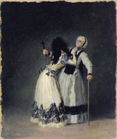 Francisco Goya The Duchess of Alba and 'La Beata'
