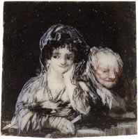 Francisco Goya Maja and a Celestina