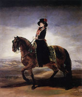 Francisco Goya Maria Luisa on Horseback