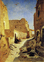 Eugene Fromentin A street of Laghouat