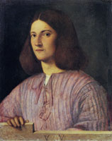 Giorgione Portrait of a Young Man