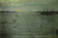 James Abbott McNeill Whistler Nocturne: Blue and Gold - Southampton Water