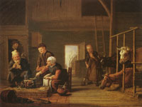 Jan Victors The farmer's kitchen