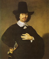 Jan Victors Portrait of a man