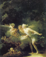 Jean-Honoré Fragonard The Fountain of Love