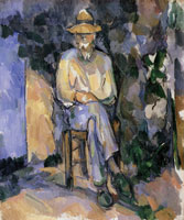 Paul Cézanne The gardener Vallier