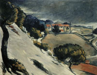 Paul Cézanne Melting snow at L'Estaque
