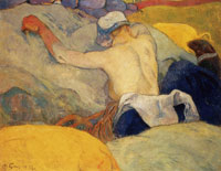 Paul Gauguin In the Heat of the Day