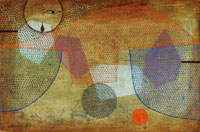 Paul Klee Sunset