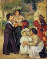 Pierre-August Renoir The Artist's Family