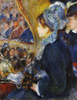 Pierre-Auguste Renoir At the Theatre