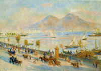 Pierre-Auguste Renoir Bay of Naples, Evening