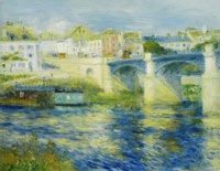Pierre-Auguste Renoir Bridge at Chatou