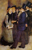 Pierre-August Renoir Leaving the Conservatoire