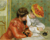 Pierre-Auguste Renoir The Letter