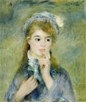 Pierre-Auguste Renoir Portrait of a Young Woman