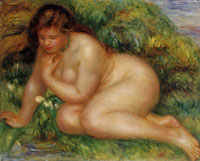 Pierre-August Renoir Psyche