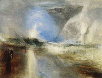 J.M.W. Turner Rockets and Blue Lights to Warn Steamboats of Shoal Water