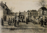 Vincent van Gogh The Entrance to the Pawn Bank