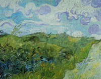 Vincent van Gogh Green Wheat Field