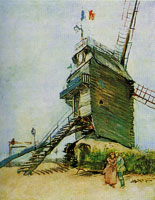 Vincent van Gogh The Moulin de Blute-Fin