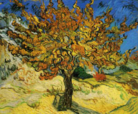 Vincent van Gogh The Mulberry Tree