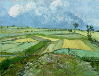 Vincent van Gogh - Wheat Fields after the Rain