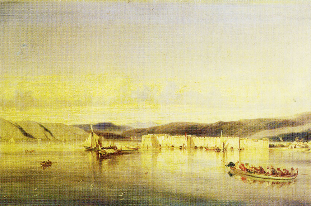 Alexandre-Gabriel Decamps - The Anchorage of Smyrna