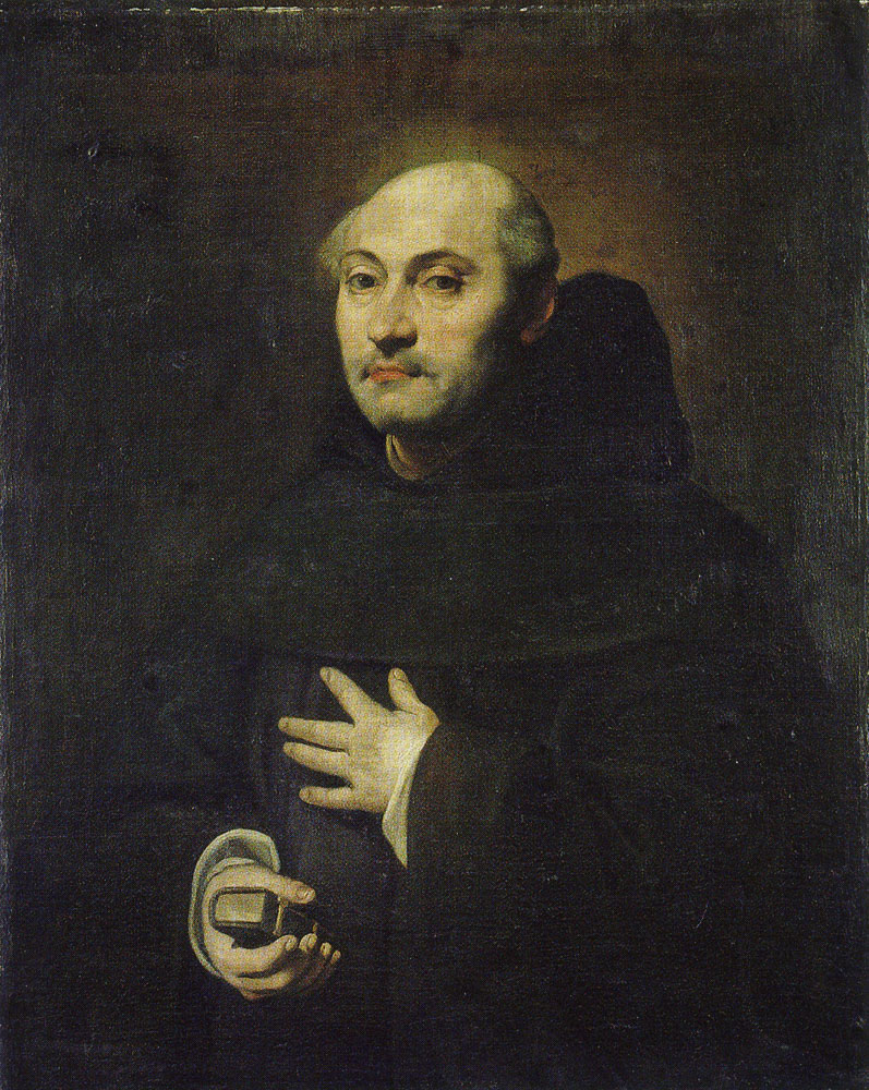 Anonymous (formerly attributed to Diego Velazquez) - Portrait of a Monk