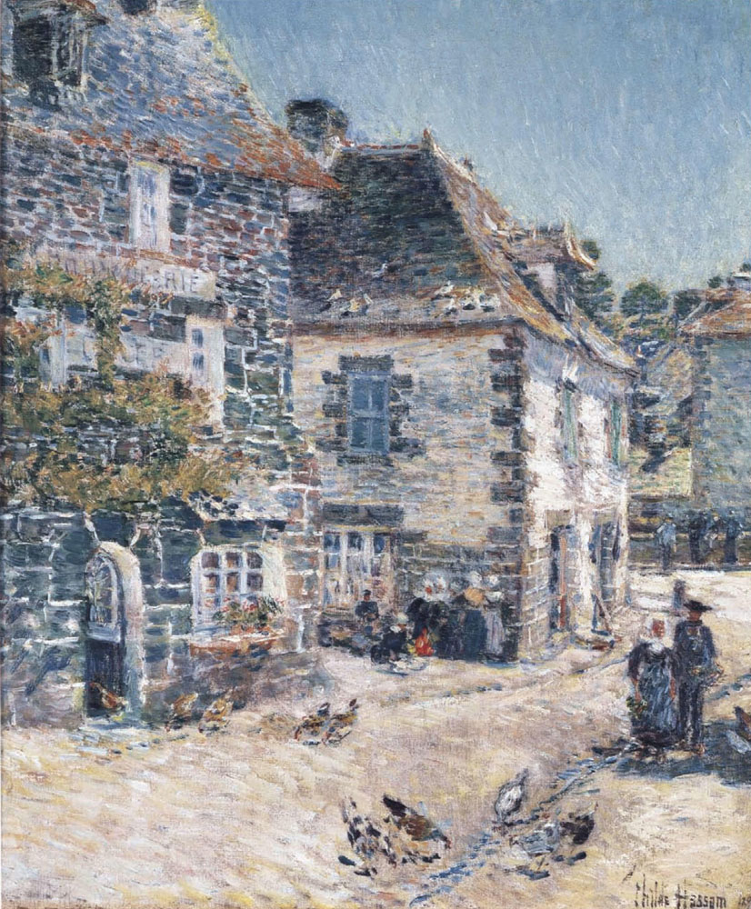 Childe Hassam - Pont-Aven, noon day