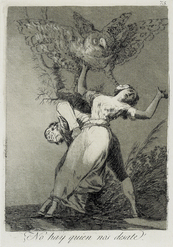 Francisco Goya - Is There No one to Untie Us?
