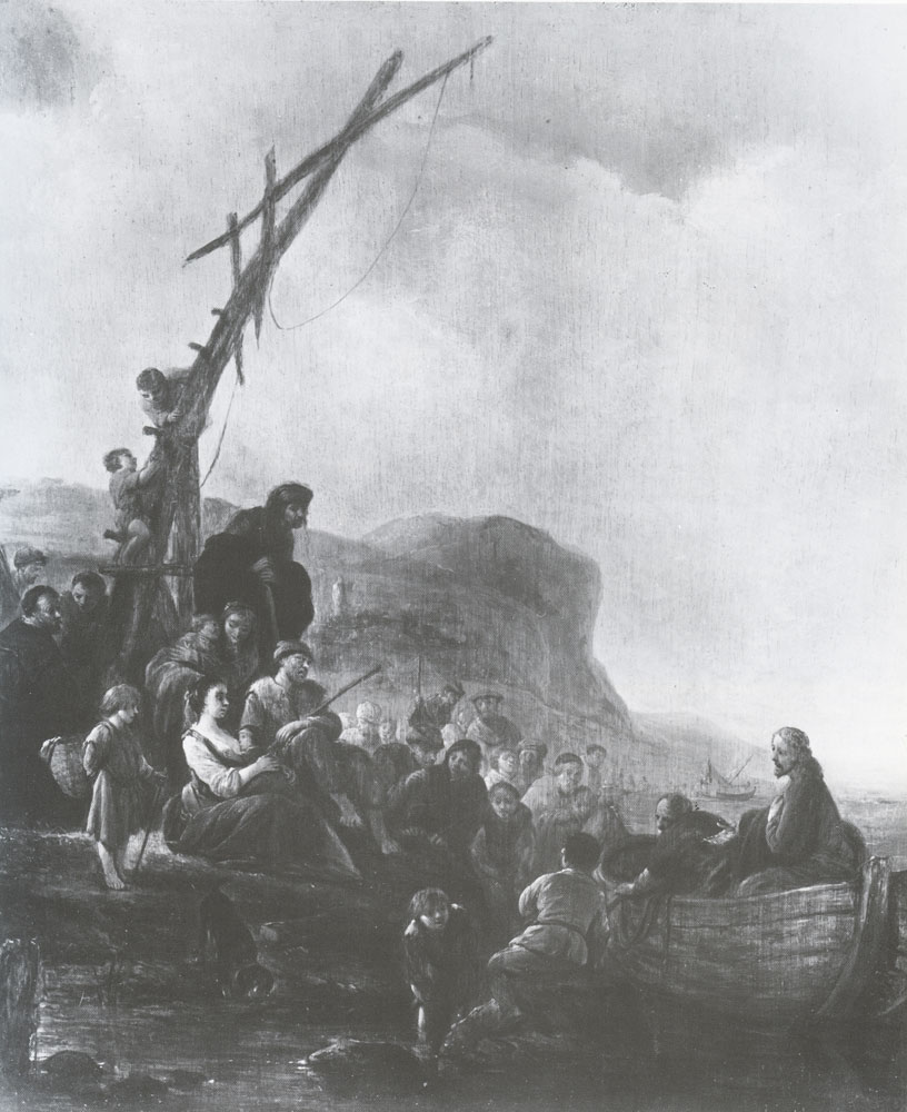 Jacob de Wet - Christ Preaching from a Boat