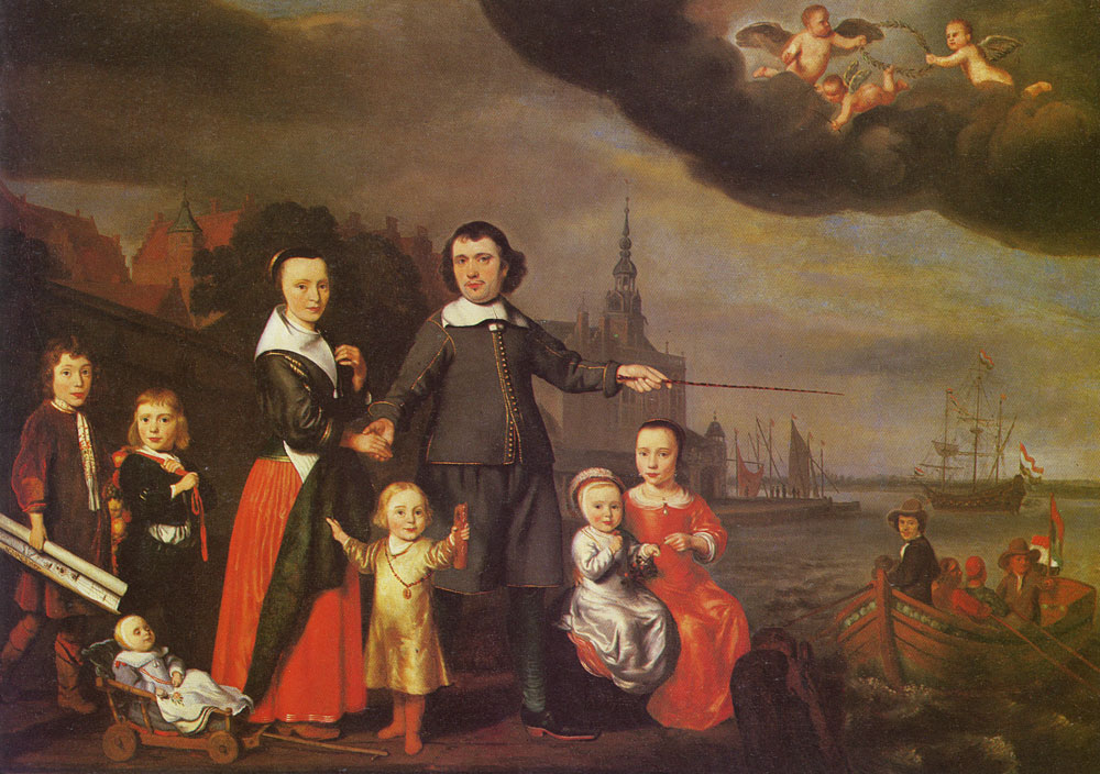 Nicolaes Maes - The Cuyter Family