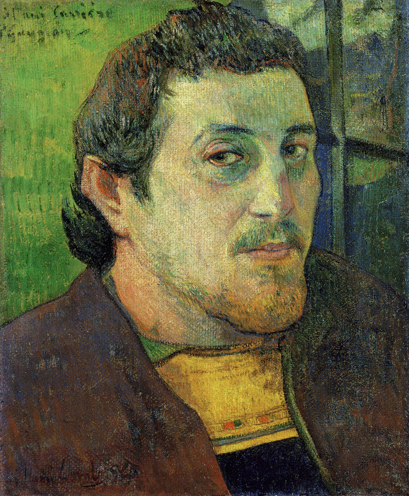 Paul Gauguin - Self-Portrait Dedicated to Charles Laval