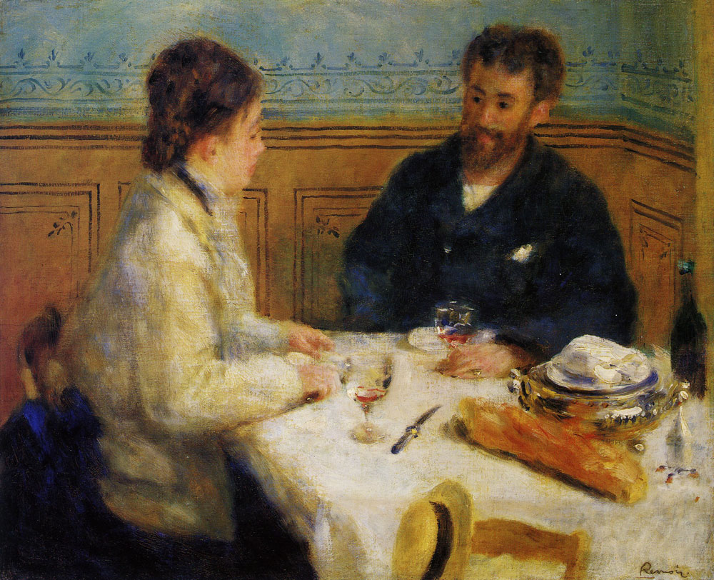 Pierre-August Renoir - The Luncheon