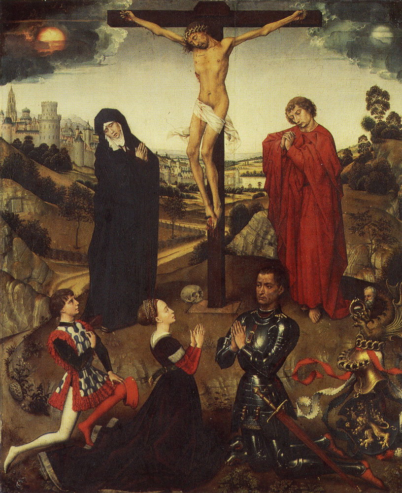 Workshop of Rogier van der Weyden - Centre panel of the Sforza Triptych