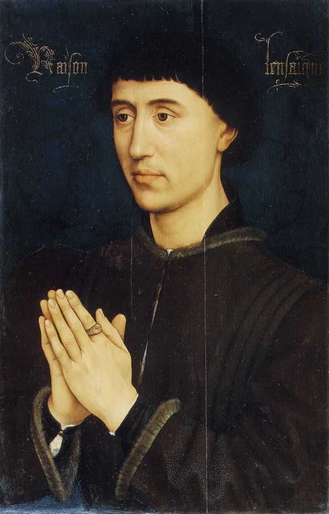 Rogier van der Weyden - Portrait of Laurent Froimont