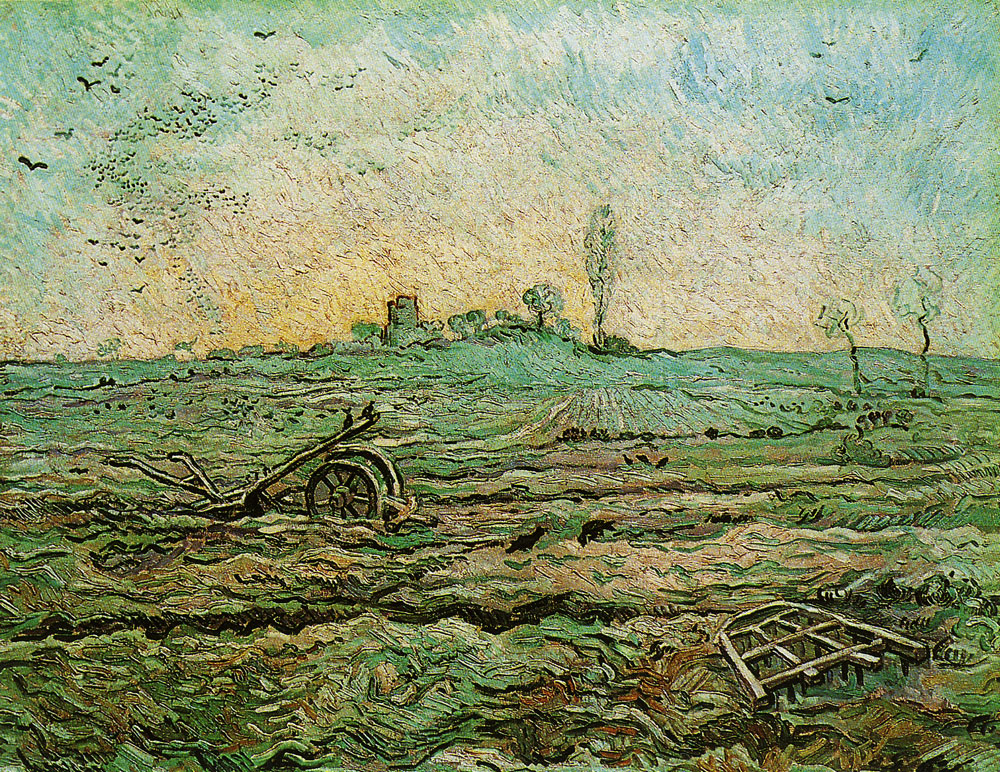 Vincent van Gogh - Plough and Harrow