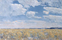 Childe Hassam Afternoon Sky, Harney Desert