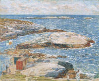 Childe Hassam Bathing Pool, Appledore
