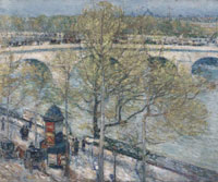Childe Hassam Pont Royal